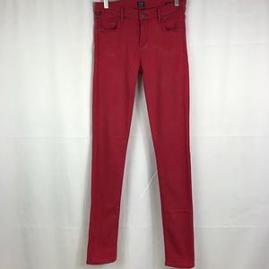 Citizens of Humanity Jean Pants Red Size 28